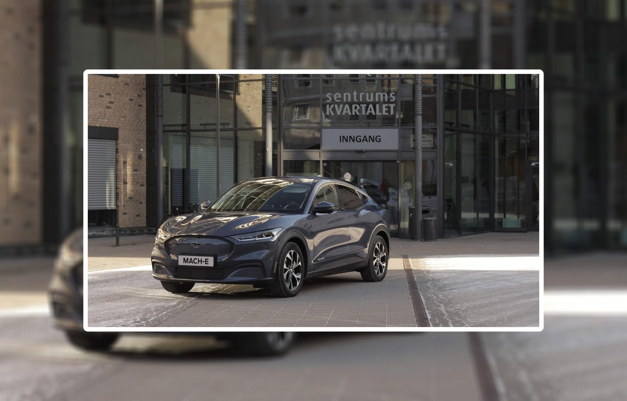 Nå kan du endelig oppfylle drømmen om en Ford Mustang!