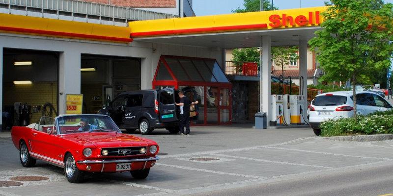 Shell Bergerkrysset Auto