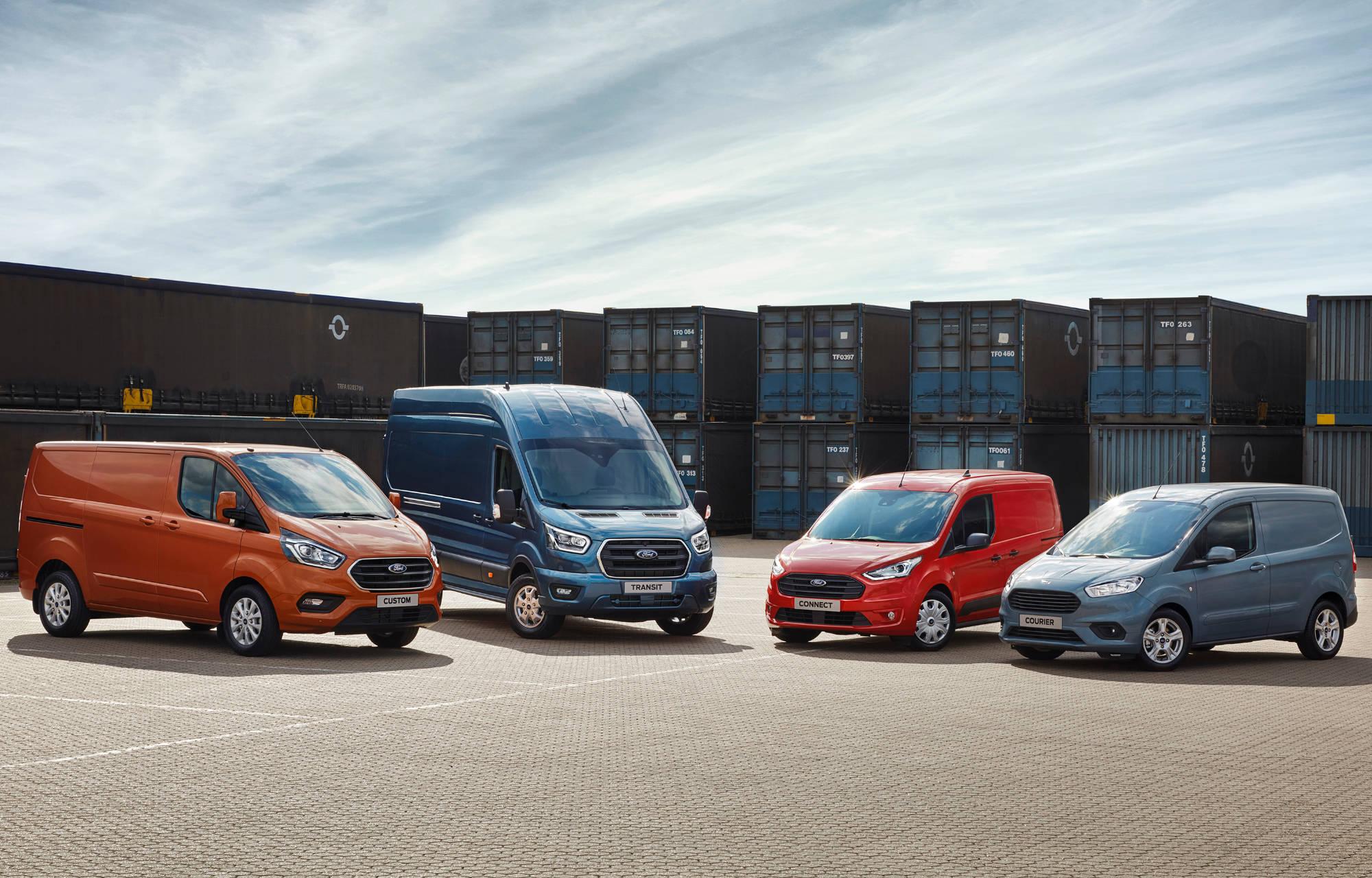 **Ford satte salgsrekord på nyttekjøretøy i Norge i 2018**