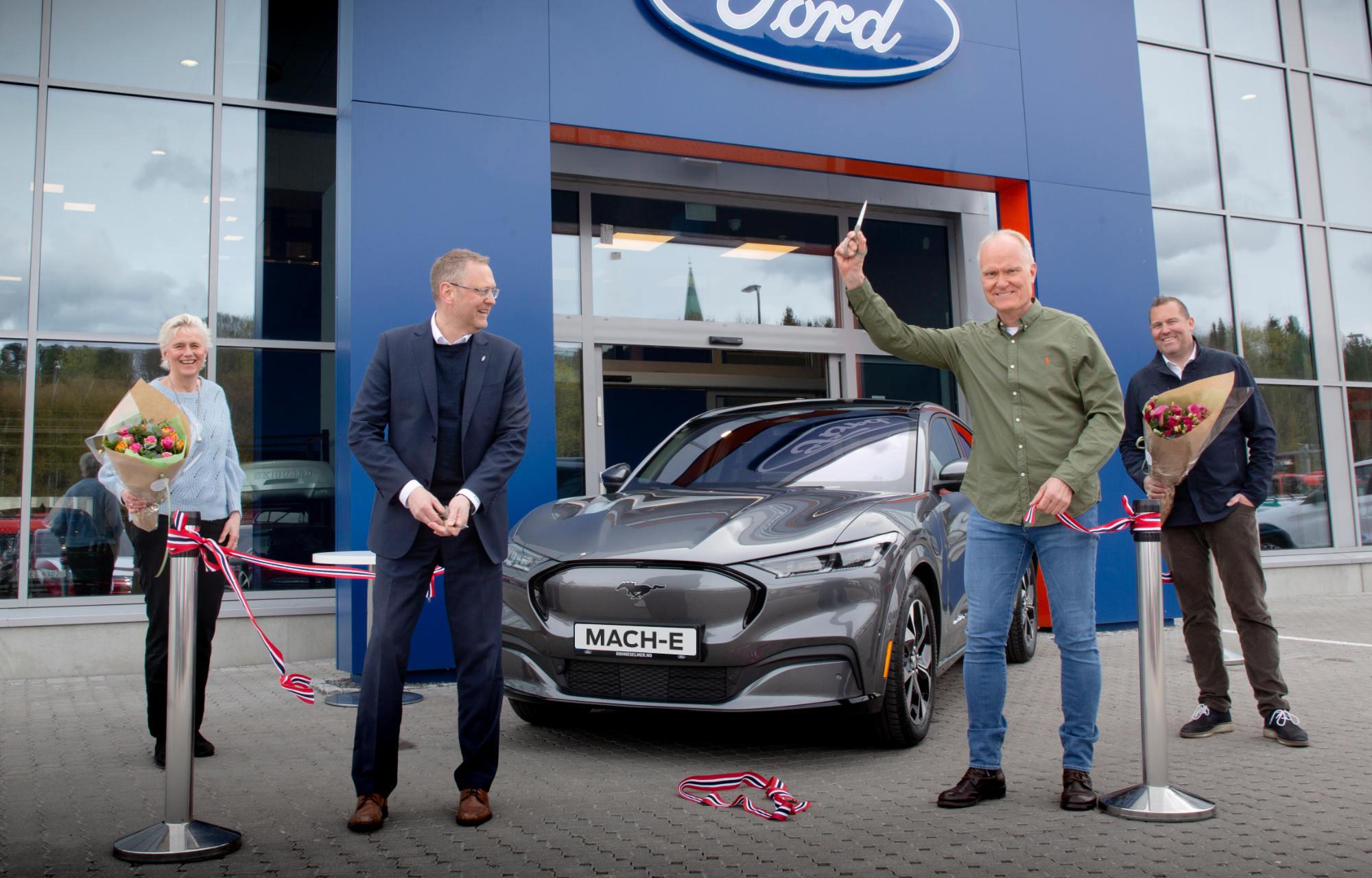 Einar fra Oslo er den første i Norge som fikk sin nye Mustang Mach-E