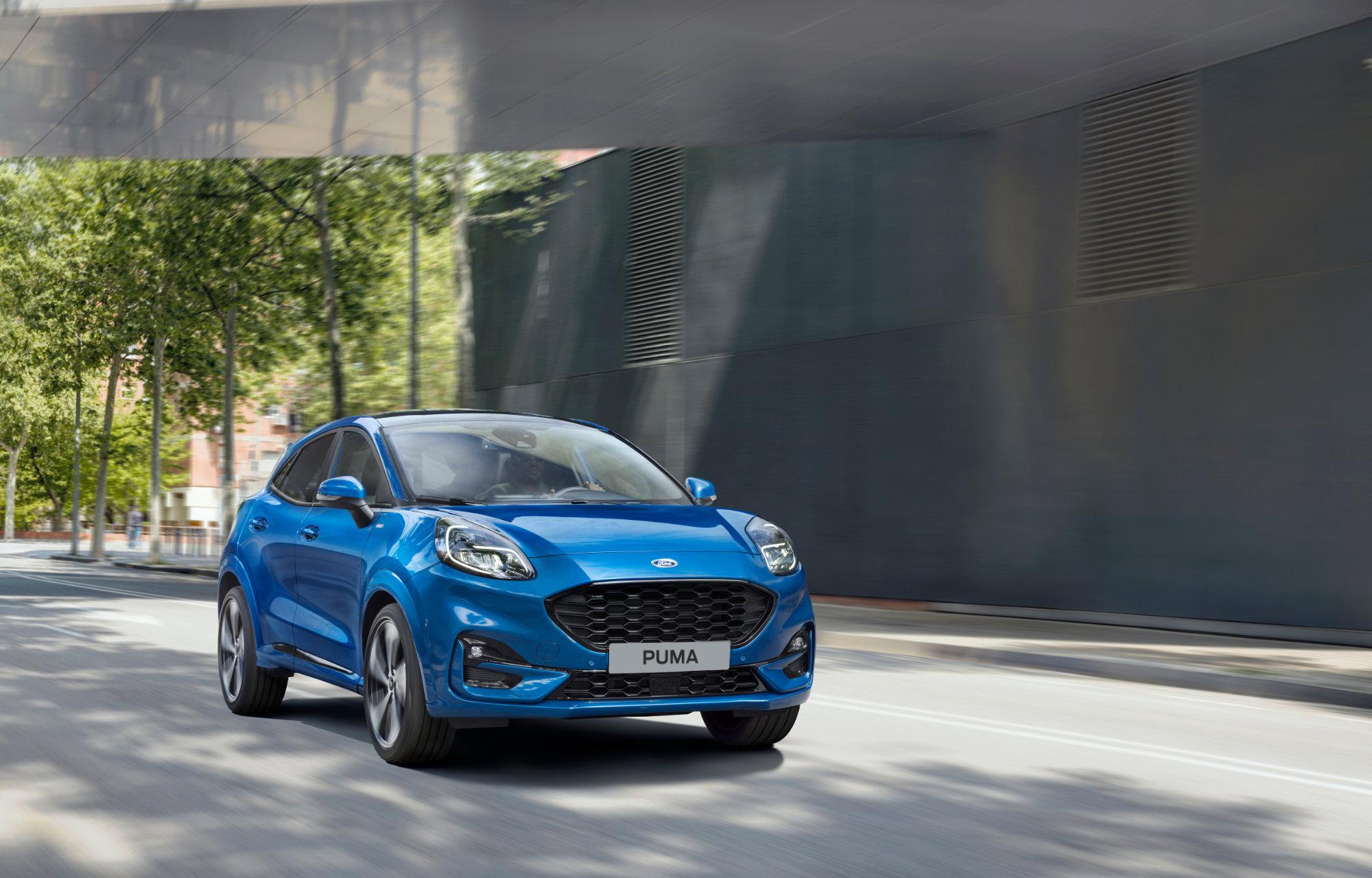 Nye Ford Puma kan «se rundt svinger» og advare om farer
