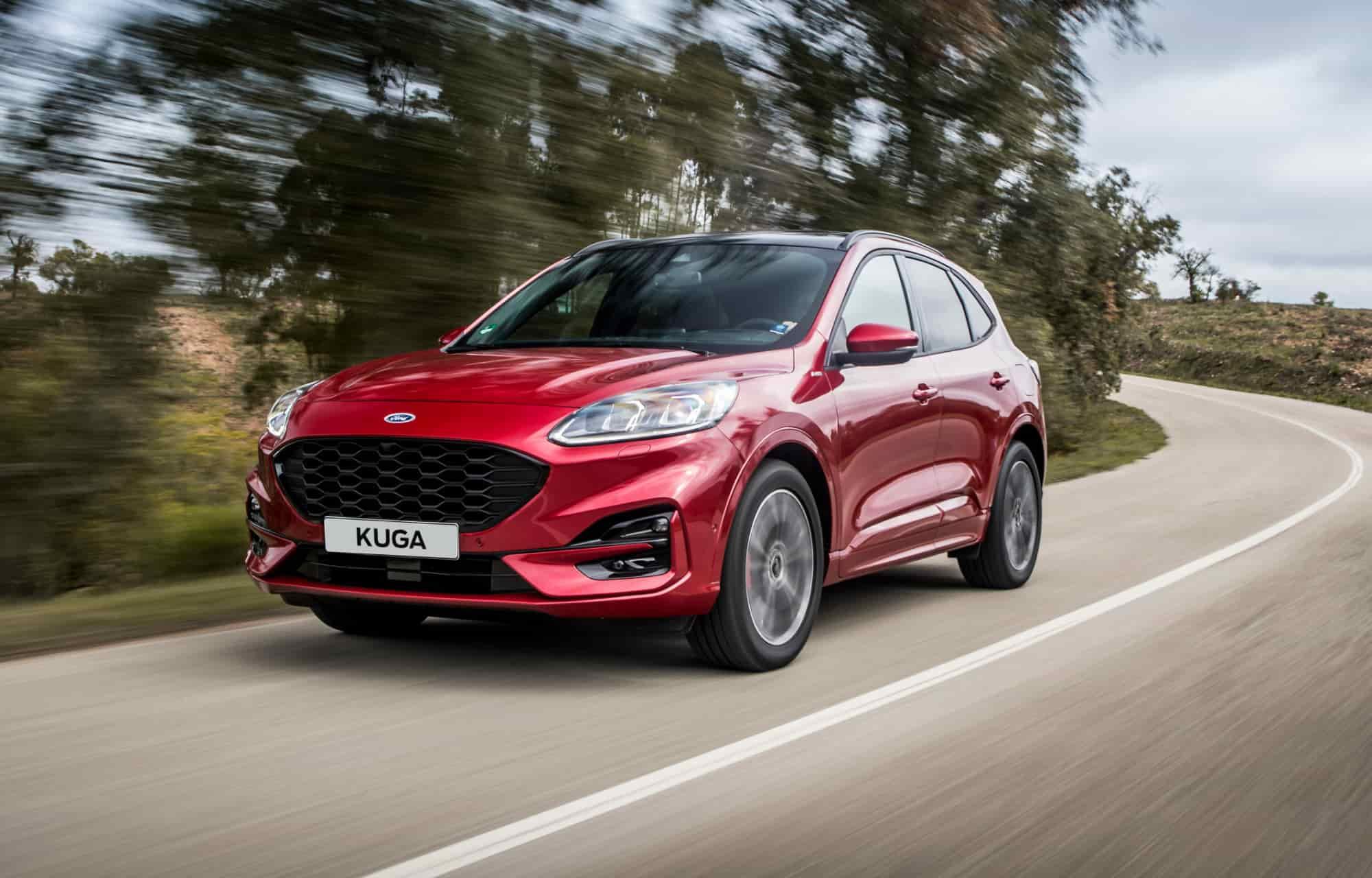 Mye ros til nye Kuga ladbar hybrid i de første biltestene
