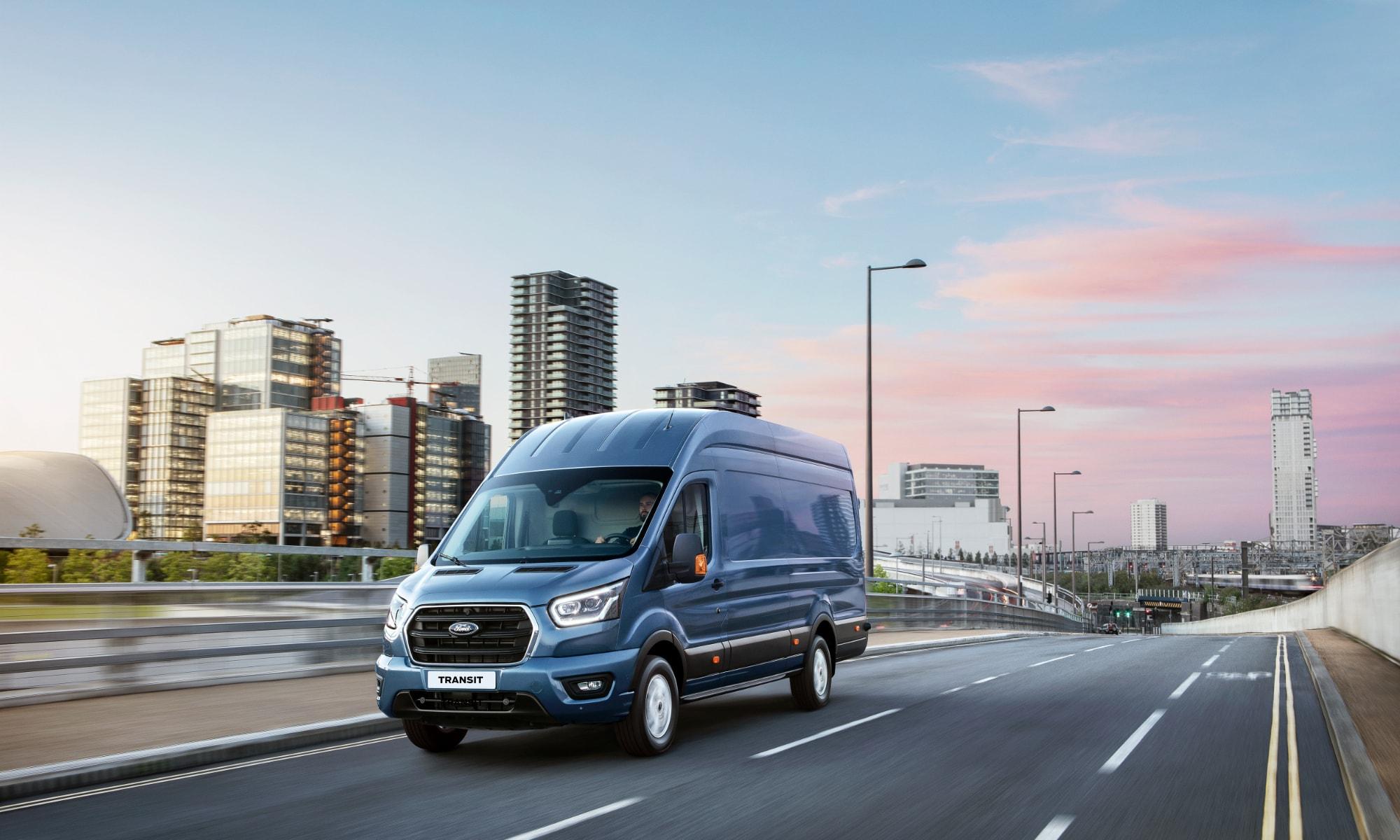 Nå er nye 2-tonns Ford Transit klar for bestilling