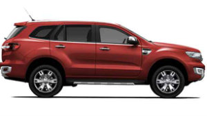 Ford Everest, Ford Laus