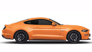 Ford Mustang, Ford Laus