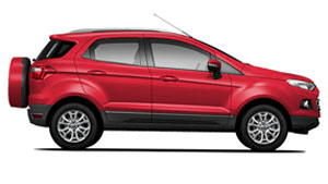 ford ecosport candy red