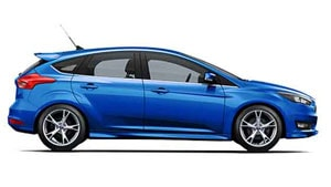 ford focus winning blue