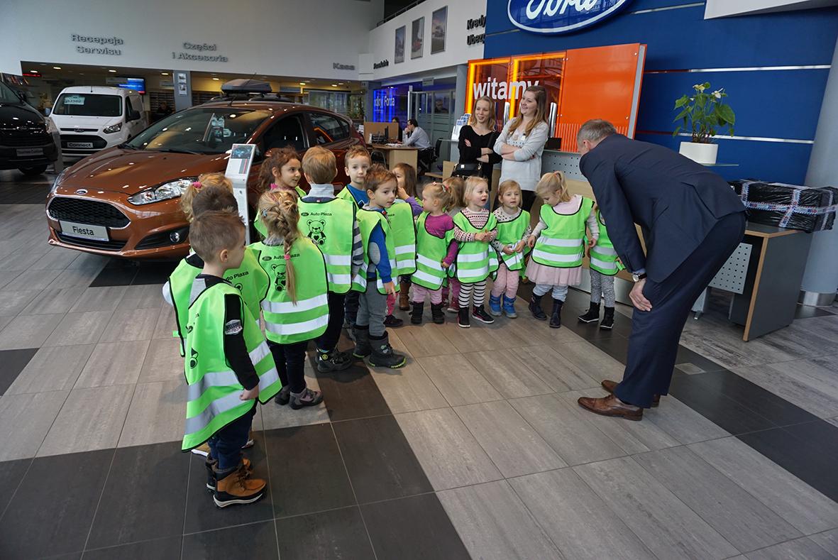 Wizyta przedszkolaków w Auto Plaza
