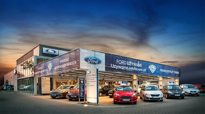 Ford Salon Auto Plaza Bielany