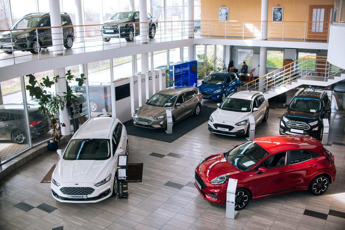 Autoryzowany salon samochodowy Ford Sosnowiec Katowice