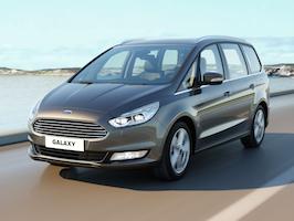 Ford presenterar nya, lyxiga Galaxy