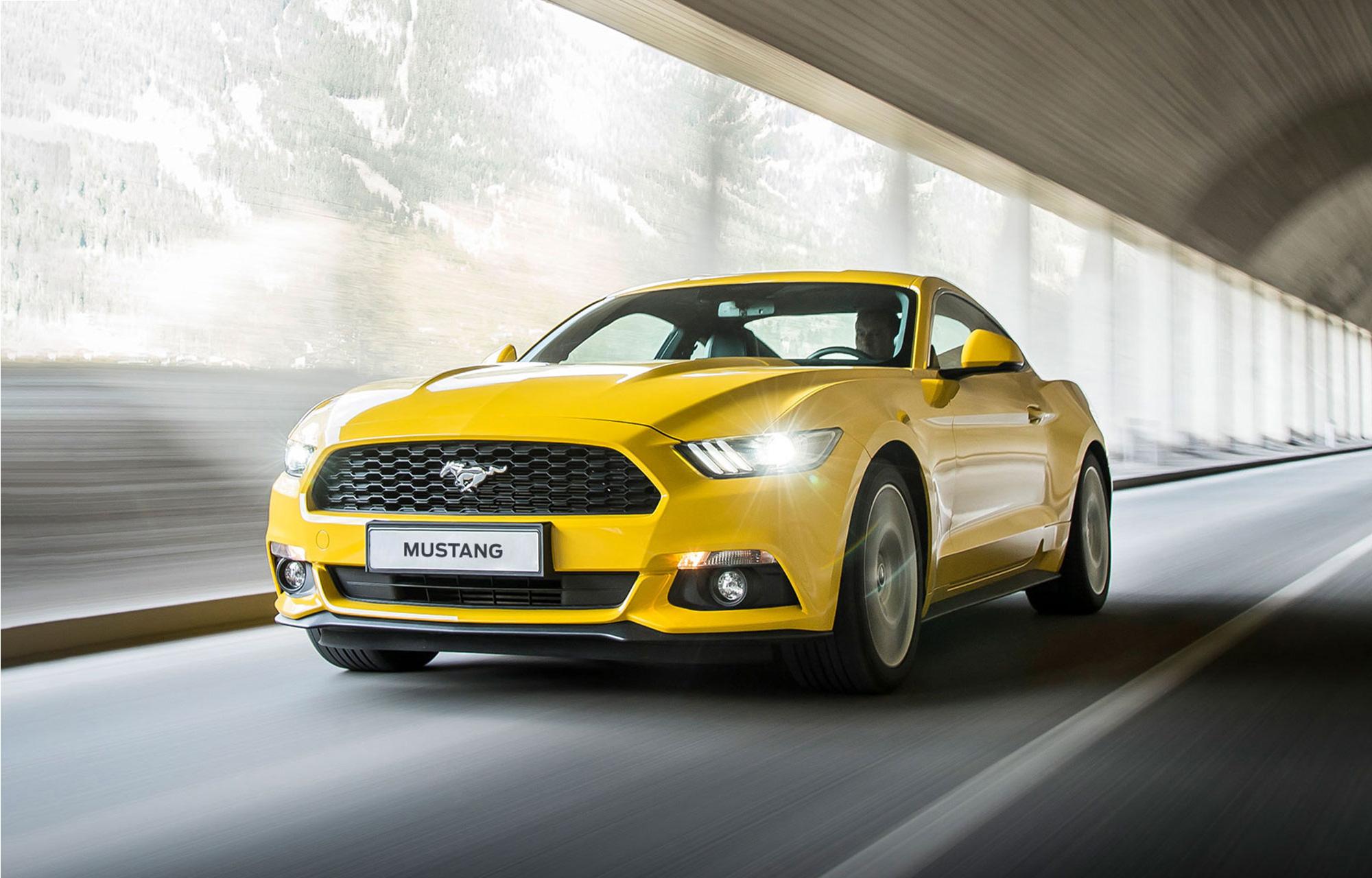 Intresseanmälan Ford Mustang 2018
