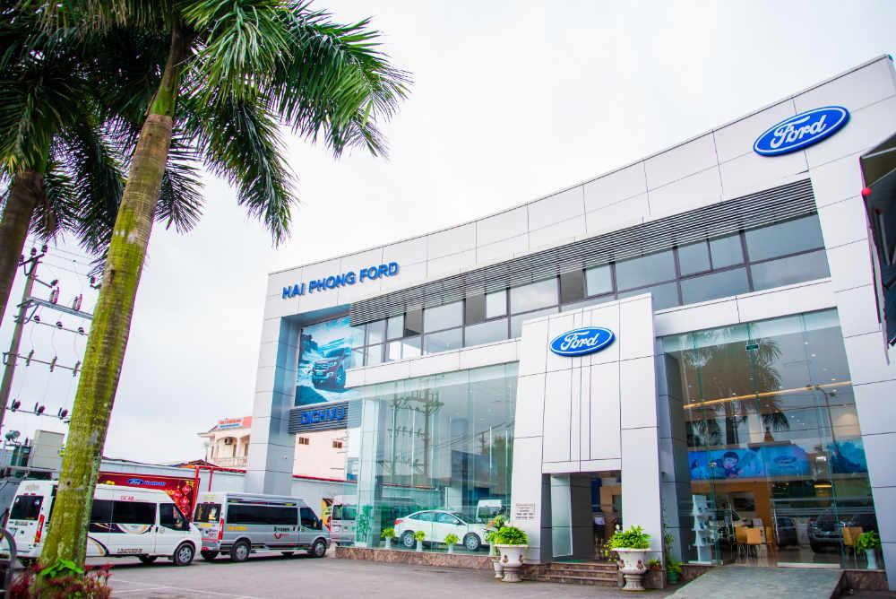 Công ty cổ phẩn kinh doanh ô tô Hải Phòng